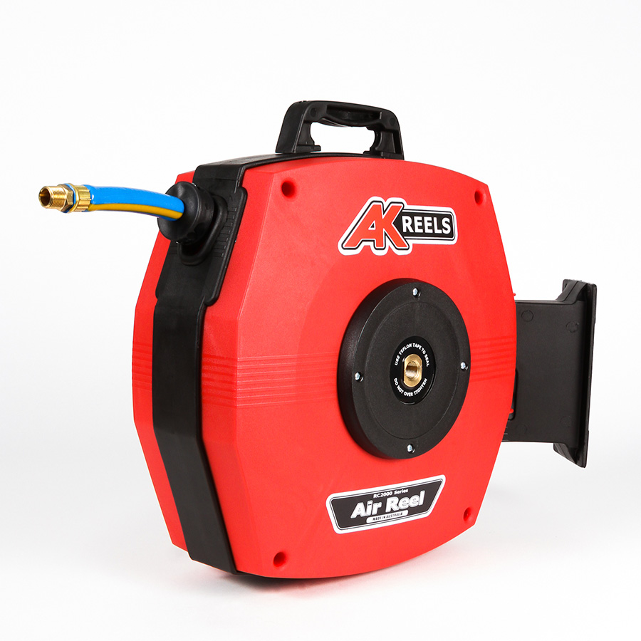 Air Hose Reel - 10mm Braided Hose
