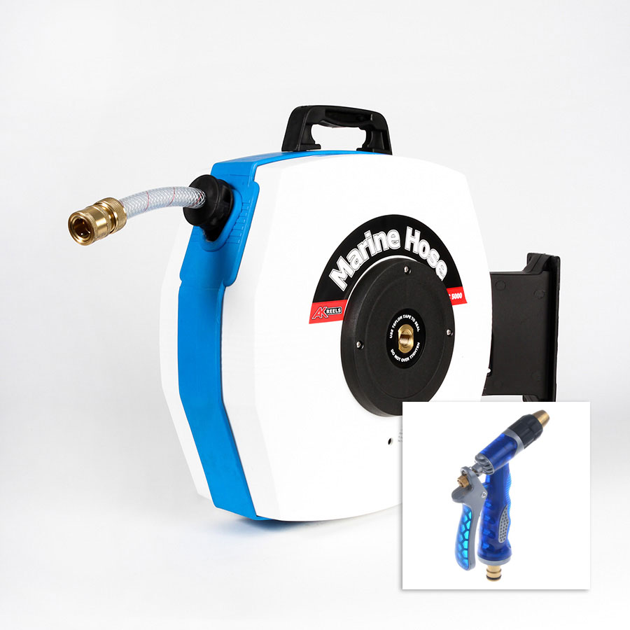 Marine Wash Down Hose Reel
